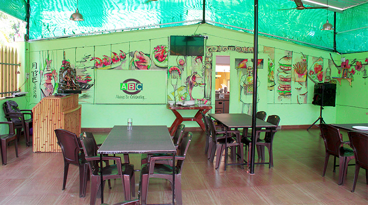 ABC Farm Restaurant inside view